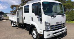 6/2012 Isuzu FRR600 Dual Cab Tipper & Crane